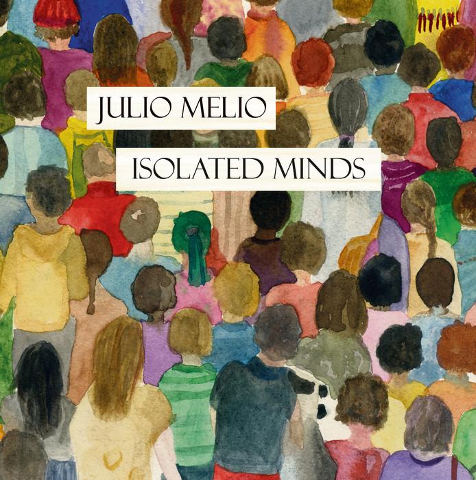 De door Cristina de Korte ontworpen hoes van de nieuwste EP van Julio Melio.