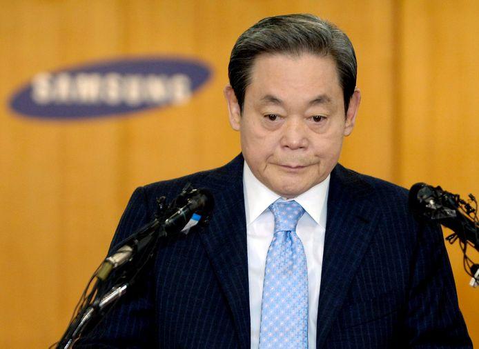 Lee Kun-hee in 2008.