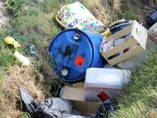 Resten van MDMA-lab gedumpt in Dongen en Kaatsheuvel