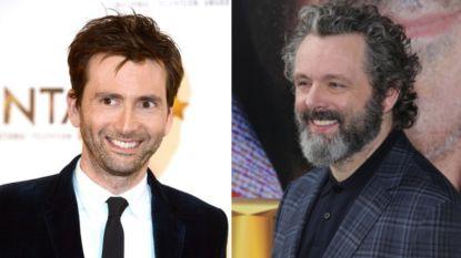 """BBC lanceert corona-komedie met David Tennant en Michael Sheen: """"Belangrijk om ook nu te lachen"""""""