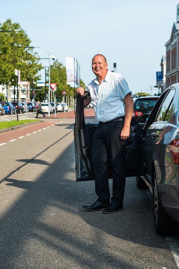 Taxichauffeur Hennie Rijsdijk.