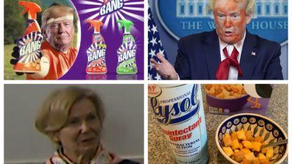 #Dontdrinkbleach: twitteraars reageren op Trumps bleekmiddelblunder