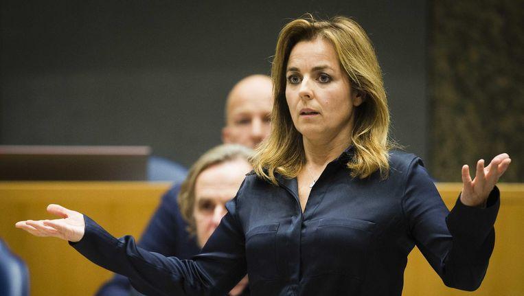Marianne Thieme, fractievoorzitter van de Partij voor de Dieren. Beeld null
