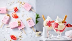 3 x verrassende recepten voor aardbeienijsjes