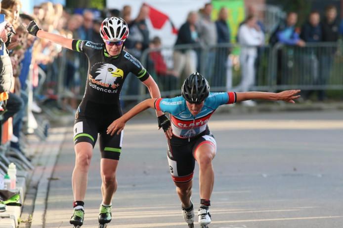 Bianca Roosenboom kon niet winnen van Janita Willems-Crediet. Foto: Wilbert Bijzitter