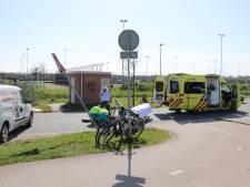 Fietsster zwaargewond na botsing met andere fietser in Leidsche Rijn
