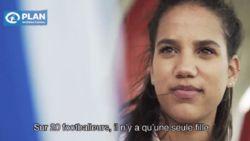 Deze 19-jarige vrouw stond een dag aan het hoofd van het Belgisch voetbal
