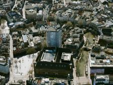 Zo ziet het lege Utrecht er vanuit de lucht uit