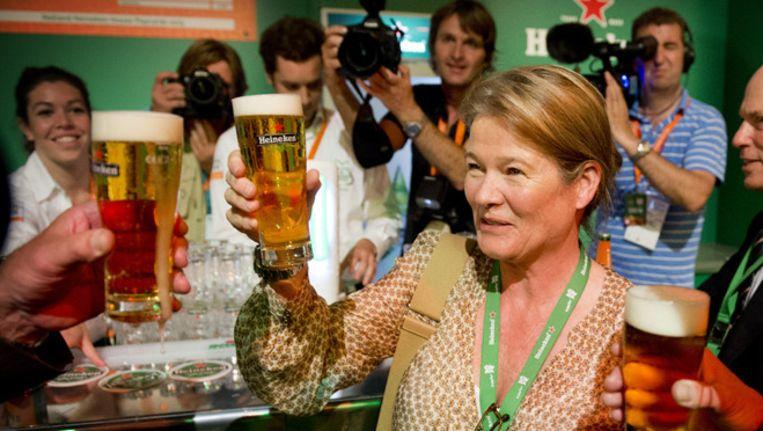 Charlene de Carvalho-Heineken zag haar inkomen stijgen met 33% Beeld ANP