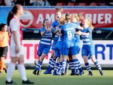 Voetbalsters PEC Zwolle winnen in Loil