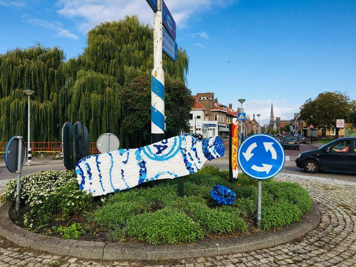 De afvalkunstwerken in Culemborg.