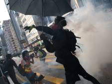 Demonstratie Hongkong eindigt in chaos
