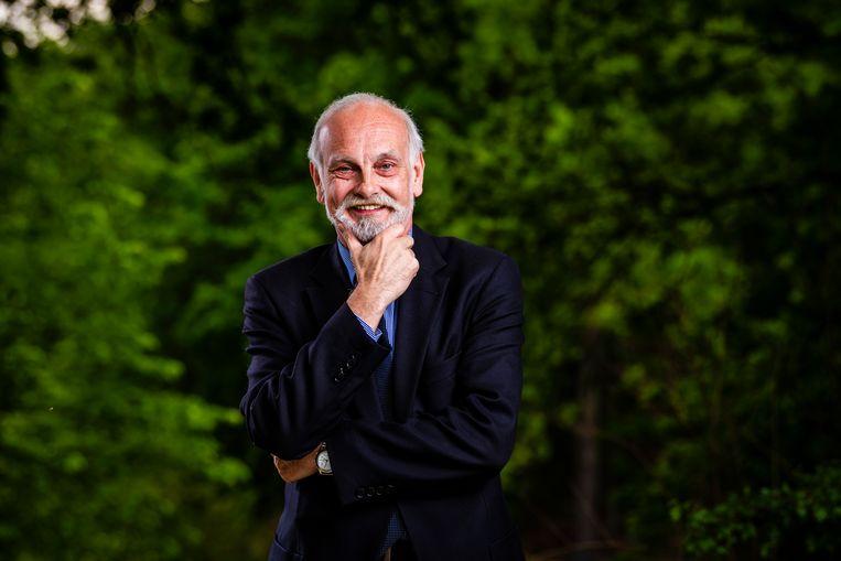 Luc Van Grieken, de vader van Tom.
