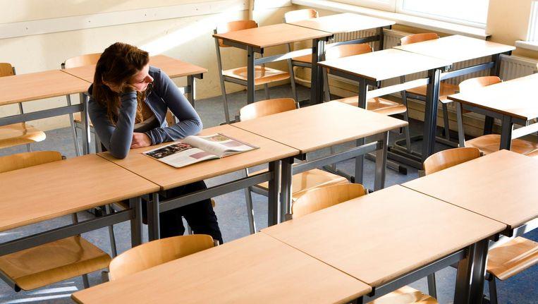 Een op de vijf scholieren denkt dat het niet mogelijk is om uit de kast te komen op school. Beeld anp