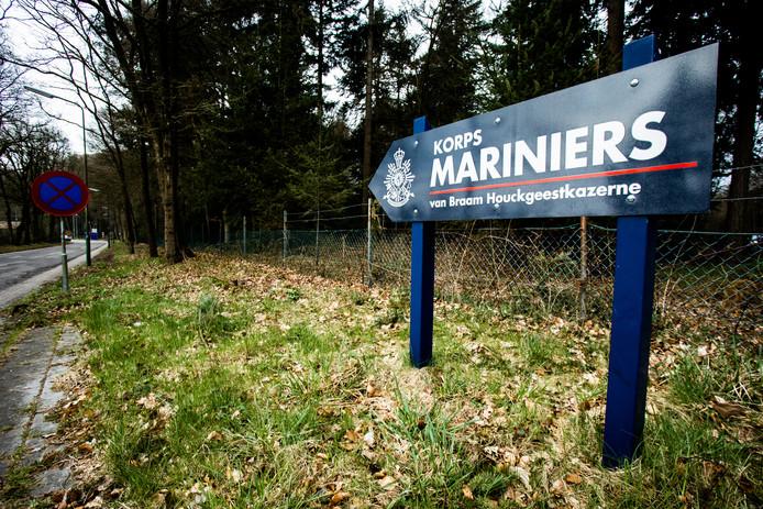 De marinierskazerne in het Utrechtse Doorn. De marinierskazerne verhuist naar Vlissingen, tot grote onvrede van de mariniers zelf.
