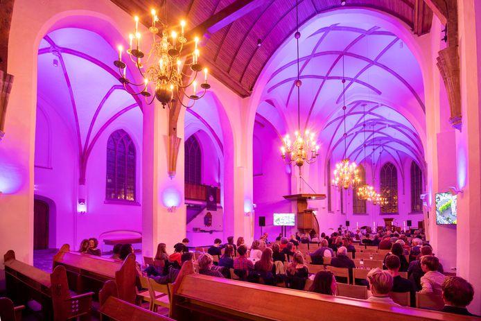 Het eerste concert in de Grote Kerk na de renovatie.