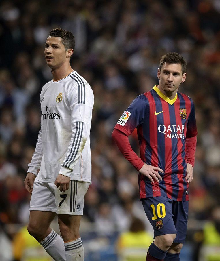 Cristiano Ronaldo en Lionel Messi staan derde en vierde op de lijst van Forbes