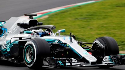 """Bottas: """"Mercedes had niet de behoefte om tot het uiterste te gaan in de tests"""""""