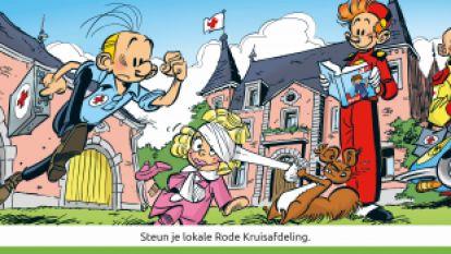 """VIDEO: Ivo geeft zich helemaal tijdens stickerverkoop Rode Kruis: """"Hebt gij iets tegen Zwitserland?!"""""""