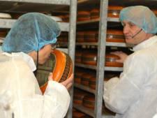 Kamerlid keurt kaas in Rouveen