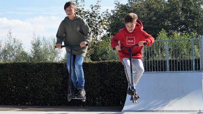 Skatepark achter JH De Zunne ingehuldigd