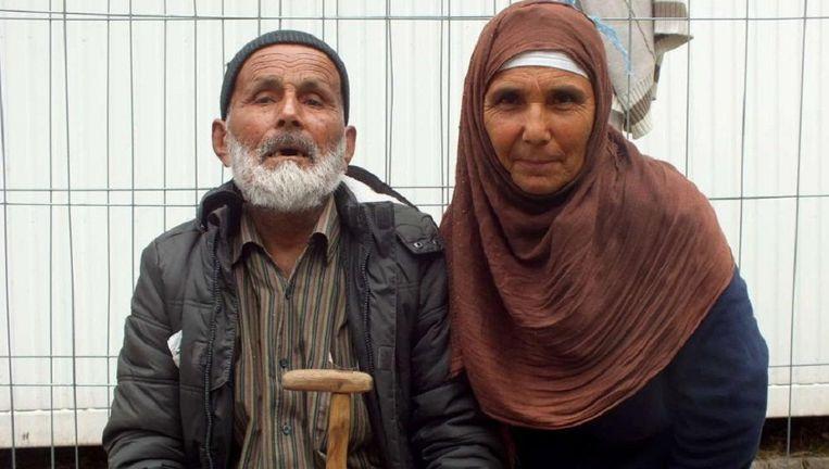 Quader Azizi met zijn zestigjarige dochter. Beeld vrijgegeven door de Duitse politie. Beeld Bundespolizei