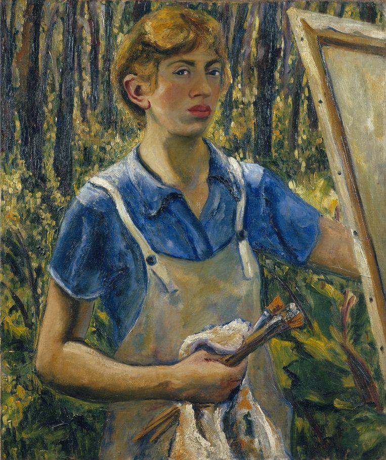 Lee Krasner, Self-Portrait,  1928. Beeld The Pollock-Krasner Foundation, Courtesy the Jewish Museum, New York