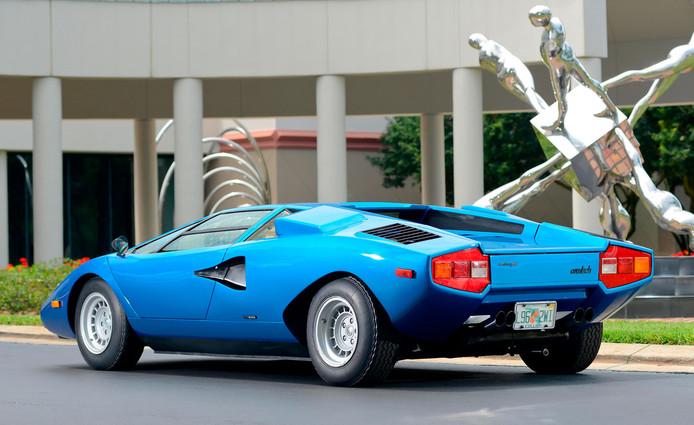 Lamborghini Countach 'Periscopo'.