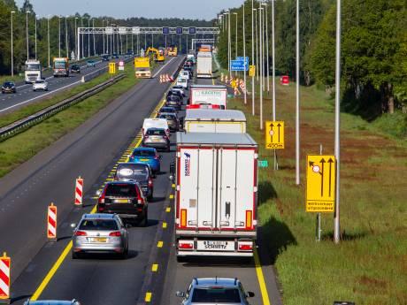 Hoe verder met de A1? 'Het kan dat we nieuwe delen van de weg nog niet mogen open stellen'