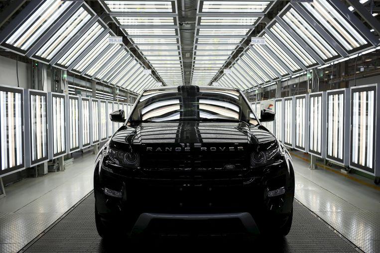 De Land Rover Evoque (die al in China gebouwd wordt)  Beeld REUTERS