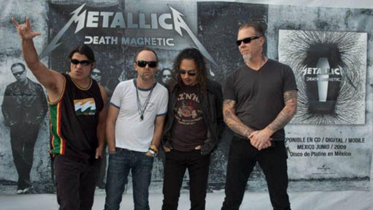 Metallica heeft op zijn eigen website foto's van Morgan geplaatst en roept iedereen die iets weet over het verdwenen meisje, op zich te melden. Foto ANP Beeld