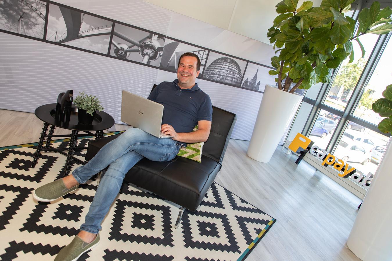 Patrick van de Graaf, commercieel directeur van het Eindhovense betaalbedrijf Capayable.