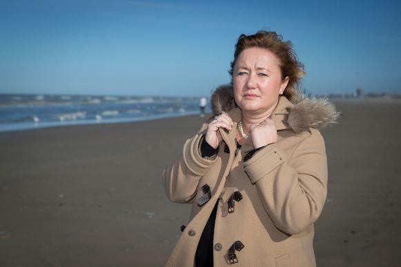 Anne Martens, waarnemend gouverneur van de provincie West-Vlaanderen.