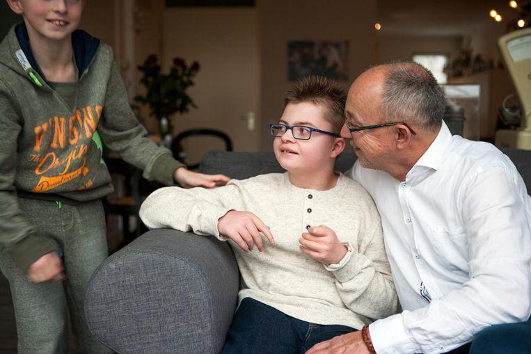 Willem Vissers met zijn zoon Samuel Beeld RV