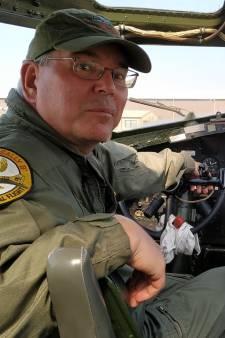 Laatste glimp zien van B-17 bommenwerper Sally B. op vliegshow