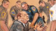 Weinstein na veroordeling naar het ziekenhuis gebracht wegens 'pijn op de borst'
