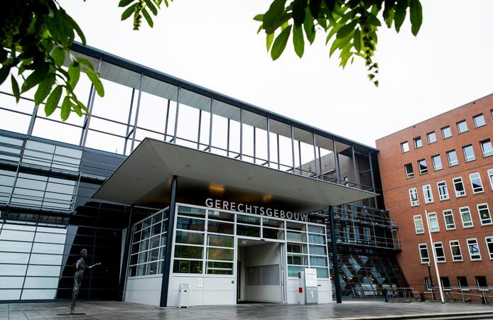Exterieur van de rechtbank van Utrecht.