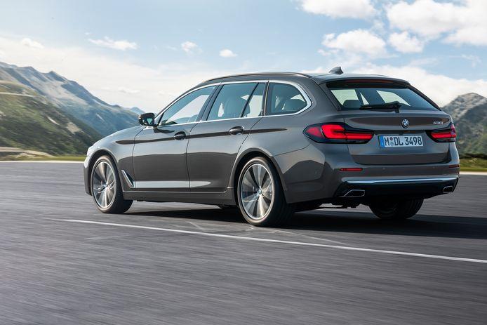 De BMW 5-Serie Touring