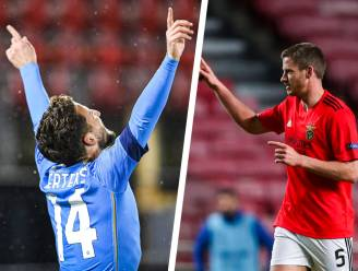 OVERZICHT. Vertonghen effent pad voor Benfica -  Mertens scoort bij jubileum, maar wint niet en strijdt met Januzaj om lijfsbehoud