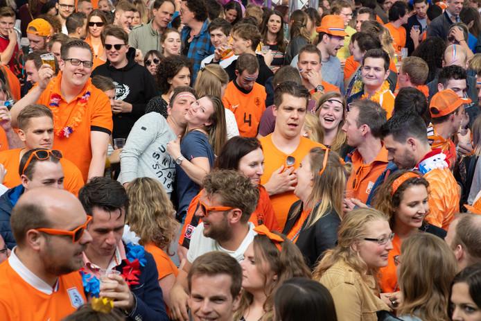 Koningsdag in Nijmegen.
