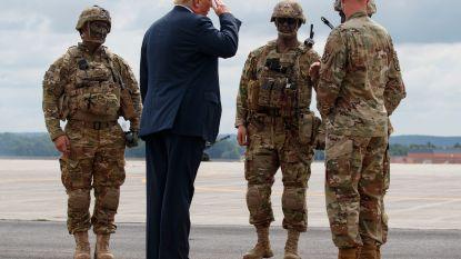 """Trump keurt defensiebudget van 716 miljard dollar goed: """"Meest significante investering in ons leger en onze soldaten uit de moderne geschiedenis"""""""