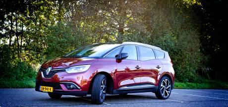'Doek valt voor de Renault Scénic, Espace en Talisman'