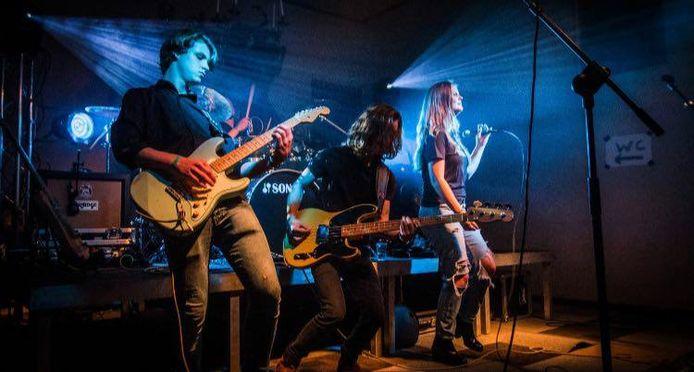 Het optreden van Risky Roads tijdens Steenworp.
