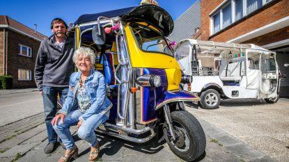 """Coronacrisis maakt einde aan populaire 'tuktuks van de Kust': """"1,5 meter afstand houden, da's echt onmogelijk"""""""