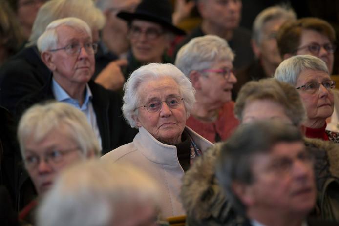 Vandaag was de herdenking van de razzia die in 1943 plaatsvond. De 88-jarige mevrouw Houwers was als jong meisje getuige.