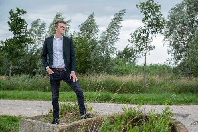 Hoewel wethouder Mathijs ten Broeke Zutphen heel geschikt vindt voor tiny houses, is bouwgrond schaars. ,,De komende tijd worden beslissingen genomen over de invulling van nog beschikbare grond, dus daar liggen de kansen.''