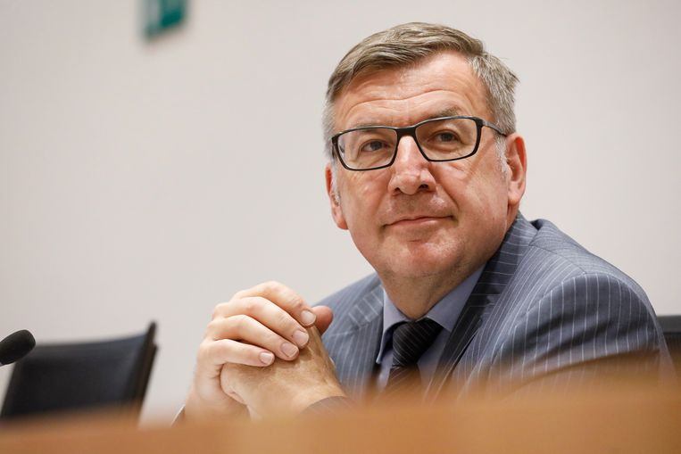Directeur van Nationale Bank en voormalig minister van Financiën Steven Vanackere.