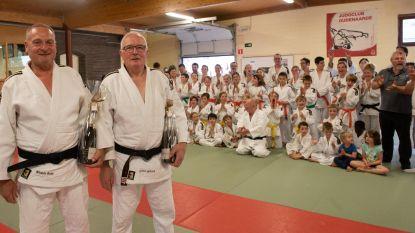 Wilfried en Rudy van Judoclub Oudenaarde behalen zwarte gordel 5de dan