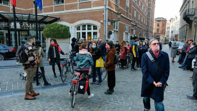 Betoging tegen politiegeweld uit onvrede met politieoptreden in september