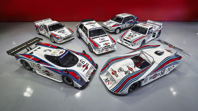 De zes Martini Lancia's moeten samen rond de 6,8 miljoen euro opleveren.